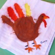 Turkey Napkin Art Example