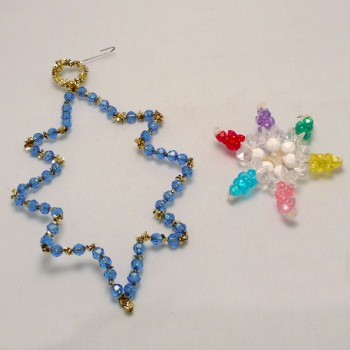 Bead Star Ornaments