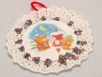 Christmas Tree Ornament Art