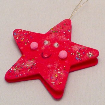 Foam Star Ornament
