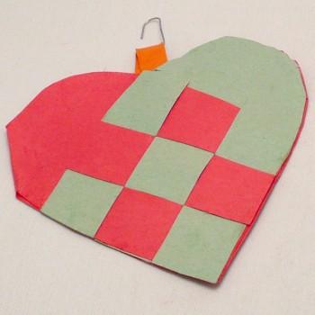 Woven Heart Ornament