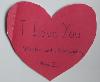 Valentine's Day Booklet Cover