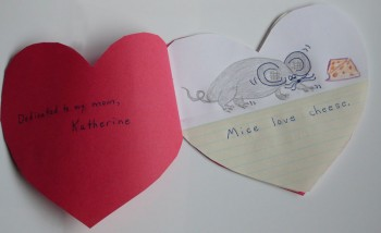 Valentine's Day Booklet Inside