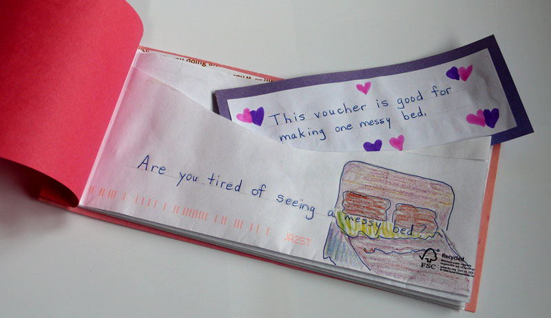 valentines day voucher